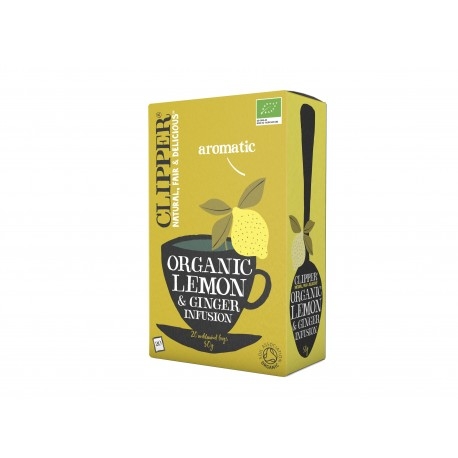 INFUSION - LEMON GINGER 20 BAGS