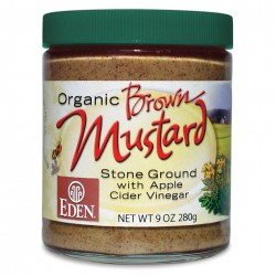 BROWN MUSTARD ORGANIC 255 GRS