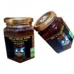 Miel agro ecologica con pimienta de canelo 200 gramos Marca Budas Lemu