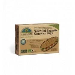 Bolsas papel sandwich 48 unidades Marca If You Care