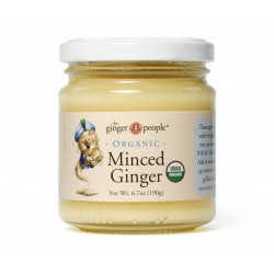 ORGANIC MINCED GINGER 190GRS