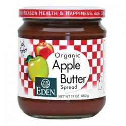 APPLE BUTTER ORGANIC 482 GRS