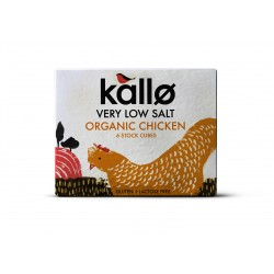 ORGANIC CHICKEN LOW SALT STOCK CUBES 66 GRS (6 UNID)