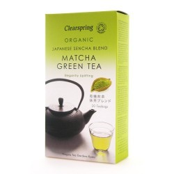 MATCHA ORGANIC GREEN TEA 20 BAGS
