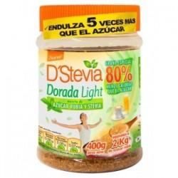 AZUCAR DORADA MAS STEVIA TARRO 400GR
