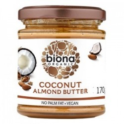 COCONUT ALMOND BUTTER ORGANIC 170GRS