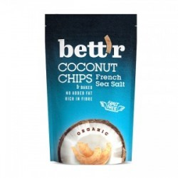 COCONUT CHIPS FRENCH SEA SALT ORGANIC 70GRS