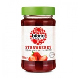 Strawberry organic spread 250 gramos Marca Biona