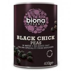 BLACK CHICK PEAS ORGANIC 400GRS