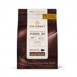 CHOCOLATE AMARGO 80% BOLSA 2.5 KGS