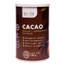 Cacao en polvo superalimento 150 gramos Marca Brota