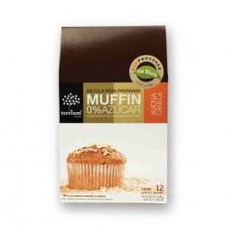 MUFFIN MIX DE AVENA CANELA 0% AZUCAR 300 GR RINDE 12 MUFFINS