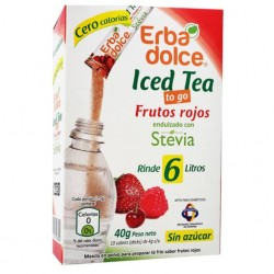 ICED TEA FRUTOS ROJOS, CAJA 10 STICKS x 4 GR