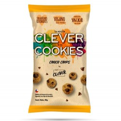 GALLETAS CLEVER BALLS CHOCO CHIPS 30 GR