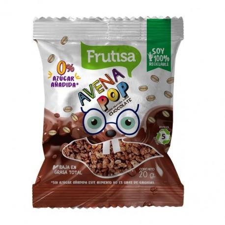AVENA POP FRUTISA CHOCOLATE 20 GR