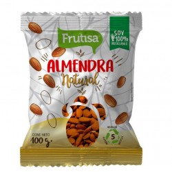 ALMENDRA NATURAL FRUTISA 100 GR
