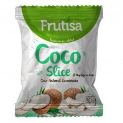 COCO NATURAL SLICE FRUTISA 80 GR