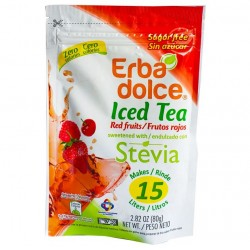 ICED TEA FRUTOS ROJOS, DOYPACK 80 GR