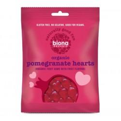 ORGANIC POMEGRANATE HEARTS 75 GR