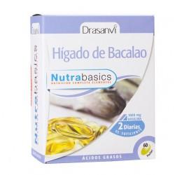 ACEITE DE HIGADO DE BACALAO 60 CAPSULAS