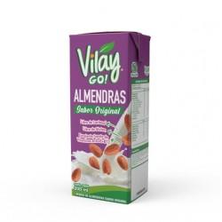 Bebida vegetal almendra original 200 cc Marca Vilay