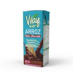 Bebida vegetal arroz chocolate 200 cc Marca Vilay