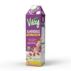 Bebida vegetal almendra vainilla 1 litro Marca Vilay