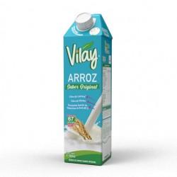 Bebida vegetal arroz original 1 litro Marca Vilay