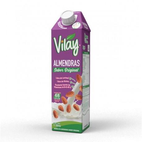 Bebida vegetal almendra original 1 litro Marca Vilay
