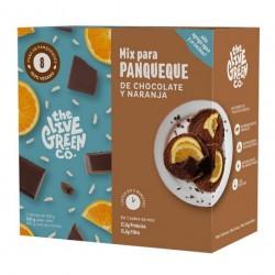 GREEN PANCAKE MIX CHOCOLATE Y NARANJA 200 GR