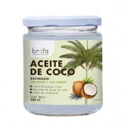ACEITE DE COCO REFINADO SIN OLOR/ SIN SABOR 380 ML