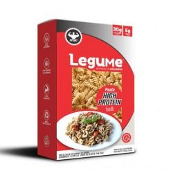 Pasta fusilli high protein 284 gramos Marca Legume