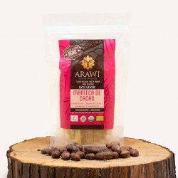 Manteca de cacao organico 454 gramos Marca Arawi