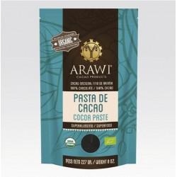 Pasta de cacao organico 227 gramos Marca Arawi
