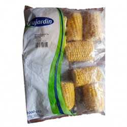 Choclo trozo IQF 1 kilo Marca Mercafood