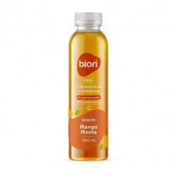 Agua sabor mango menta 450 cc Marca Biori