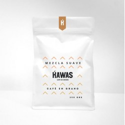 Cafe mezcla suave grano 250 gramos Marca Kawas