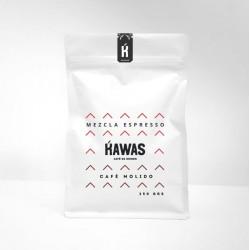 Cafe mezcla suave molido 250 gramos Marca Kawas