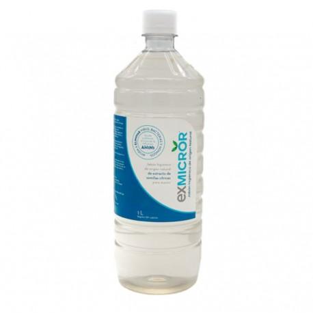 Jabon higienico de origen natural 1 litro Marca Exmicror