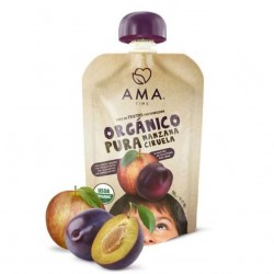 Manzana ciruela organico 90 gramos Marca Ama