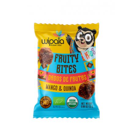 Kids bites mango y quinua organic 300 gramos Marca Wipala