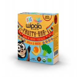 Kids bar uvilla quinua brocoli organic 150 gramos Marca Wipala