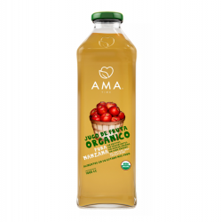 Jugo manzana organico 1 litro Marca Ama