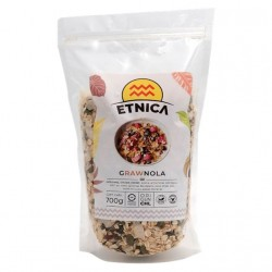 Grawnola integral cruda raw 700 gramos Marca Etnica