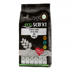 Harina avena sin gluten bio 500 gramos Marca Ecosana