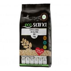 Copos avena grueso sin gluten bio 500 gramos Marca Ecosana