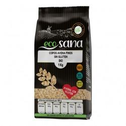 Copos avena fino sin gluten bio 1 kilogramo Marca Ecosana
