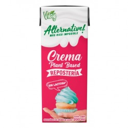 Crema vegetal alternative sin latosa reposteria 200 cc Marca Vilay