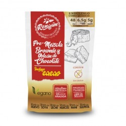 Premezcla brownie y volcan de chocolate 350 gramos Marca Rengun