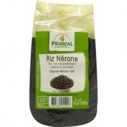 Arroz negro organico 500 gramos Marca Primeal